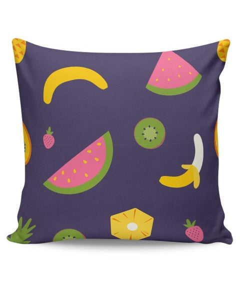 """Watermelon ""  blue backgrond Cushion Cover Online India"