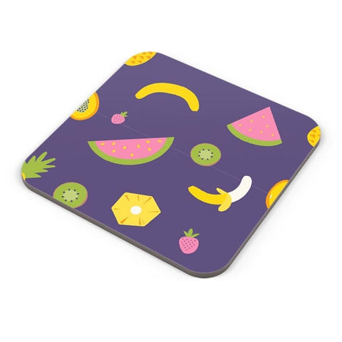"""Watermelon ""  blue backgrond Coaster Online India"