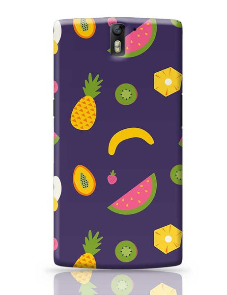 """Watermelon ""  blue backgrond OnePlus One Covers Cases Online India"