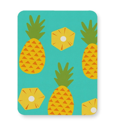 """Pineapple"" Sky Blue background Mousepad Online India"