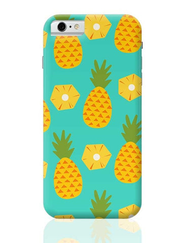 """Pineapple"" Sky Blue background iPhone 6 6S Covers Cases Online India"