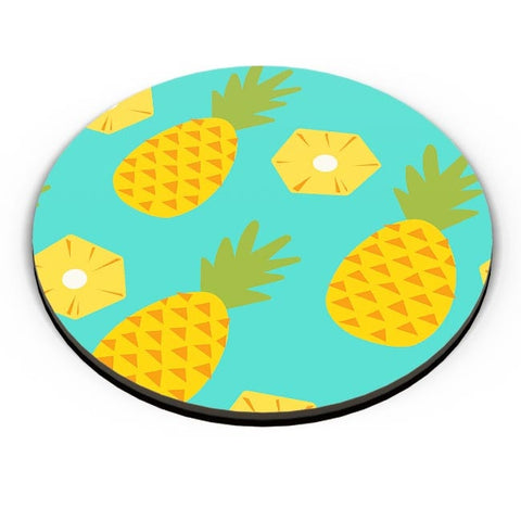 """Pineapple"" Sky Blue background Fridge Magnet Online India"