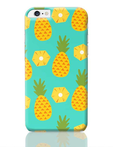 """Pineapple"" Sky Blue background iPhone 6 Plus / 6S Plus Covers Cases Online India"