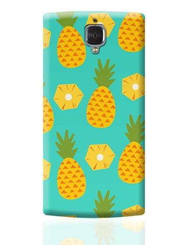 """Pineapple"" Sky Blue background OnePlus 3 Covers Cases Online India"