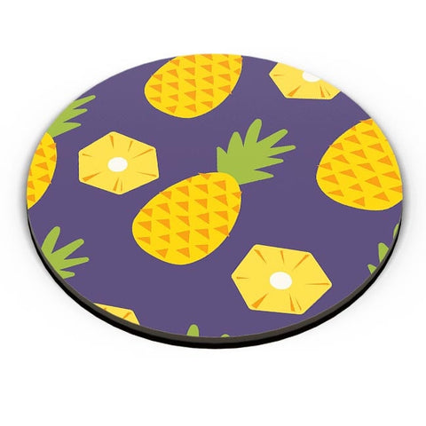 """Pineapple""  Blue background Fridge Magnet Online India"