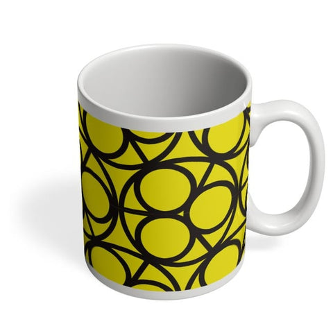 3 Ring Abstract Coffee Mug Online India