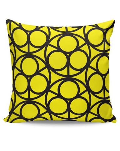 3 Ring Abstract Cushion Cover Online India