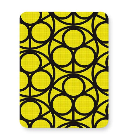 3 Ring Abstract Mousepad Online India