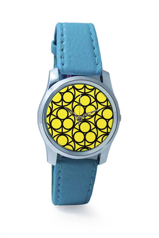 Women Wrist Watch India | 3 Ring Abstract Wrist Watch Online India