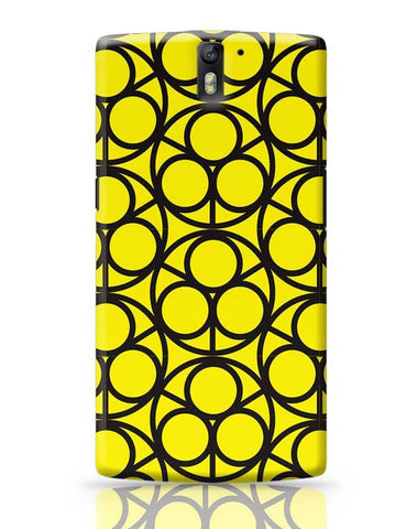 3 Ring Abstract OnePlus One Covers Cases Online India