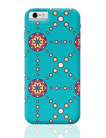 """Polka Dots Ring"" sky color background iPhone 6 6S Covers Cases Online India"