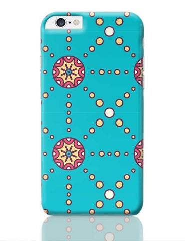 """Polka Dots Ring"" sky color background iPhone 6 Plus / 6S Plus Covers Cases Online India"
