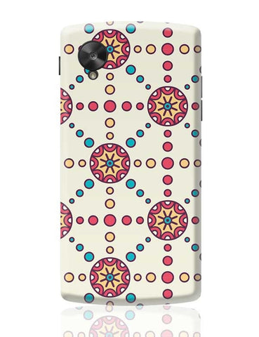 """Polka Dots Ring""White Background Google Nexus 5 Covers Cases Online India"