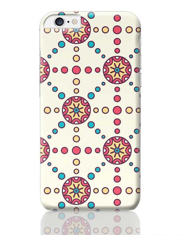 """Polka Dots Ring""White Background iPhone 6 Plus / 6S Plus Covers Cases Online India"