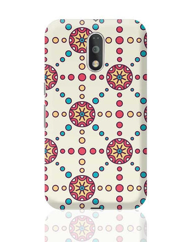 """Polka Dots Ring""White Background Moto G4 Plus Online India"