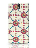 """Polka Dots Ring""White Background OnePlus One Covers Cases Online India"
