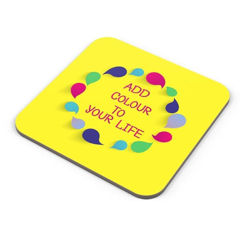 Add Color To Your Life Coaster Online India