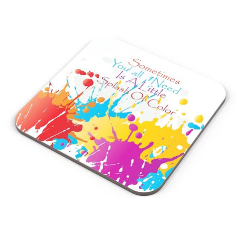 A Little Splash Of Colour Coaster Online India