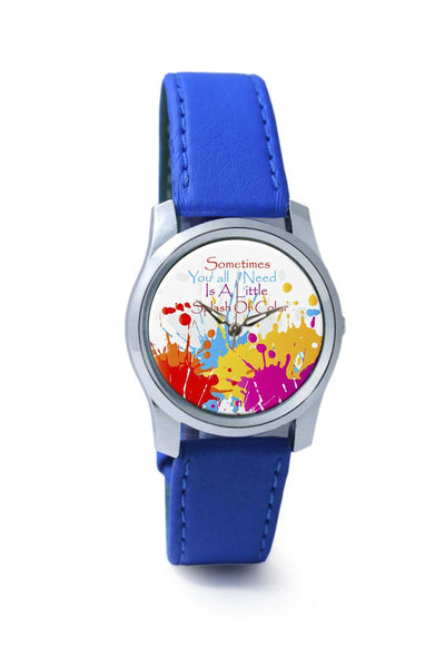 Women Wrist Watch India | A Little Splash Of Colour Wrist Watch Online India