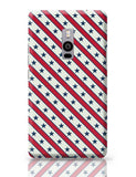Grey star with red background Oneplus Two Covers Cases