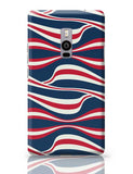 Waving Ribbon with blue bacground Oneplus Two Covers Cases