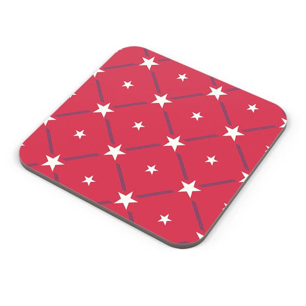 White Star with red background Coaster Online India