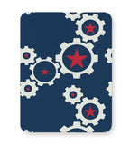 Star Wheel with blue background Mousepad Online India