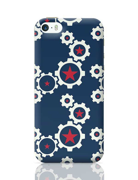 Star Wheel with blue background iPhone 5/5S Covers Cases Online India