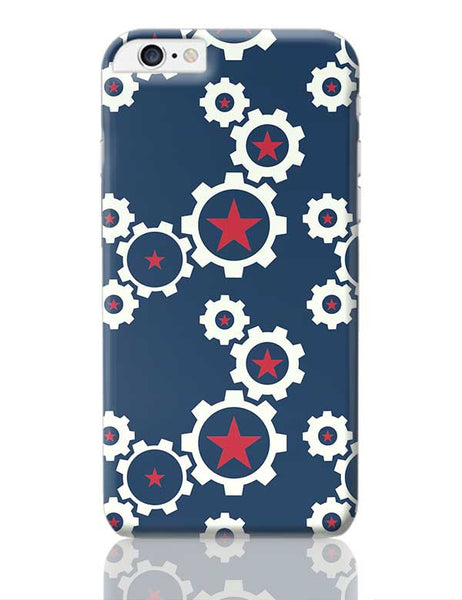 Star Wheel with blue background iPhone 6 Plus / 6S Plus Covers Cases Online India