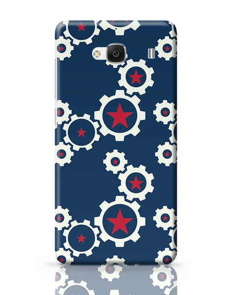 Star Wheel with blue background Redmi 2 / Redmi 2 Prime Covers Cases Online India