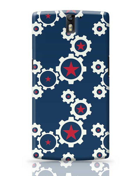 Star Wheel with blue background OnePlus One Covers Cases Online India