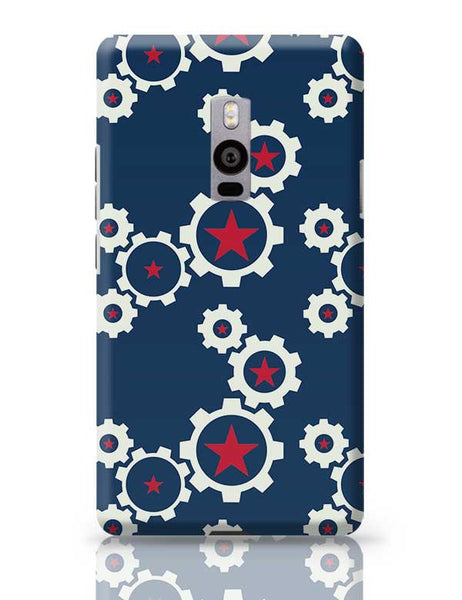 Star Wheel with blue background OnePlus Two Covers Cases Online India