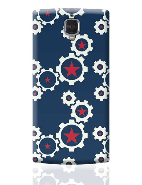 Star Wheel with blue background OnePlus 3 Covers Cases Online India