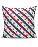 Red Star with grey background Cushion Cover Online India
