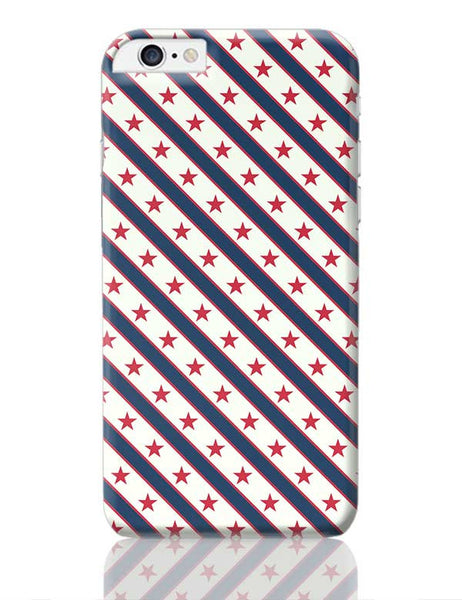 Red Star with grey background iPhone 6 Plus / 6S Plus Covers Cases Online India