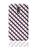 Red Star with grey background Moto G4 Covers Cases