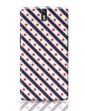 Red Star with grey background Oneplus One Covers Cases