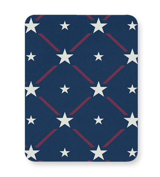 White Star with blue background Mousepad Online India