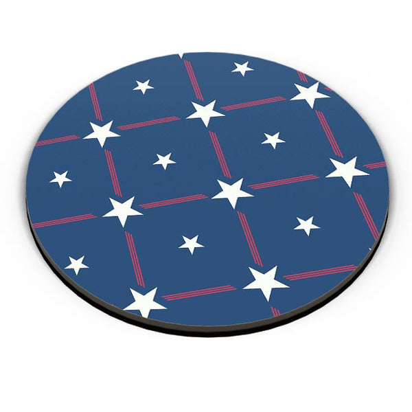 White Star with blue background Fridge Magnet Online India