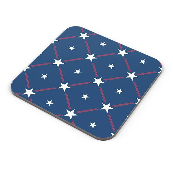 White Star with blue background Coaster Online India