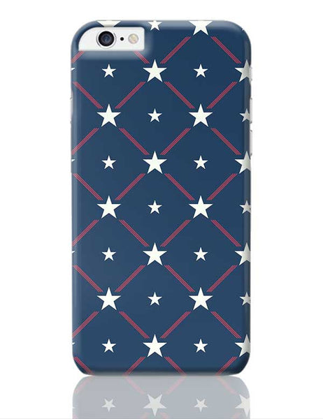 White Star with blue background iPhone 6 Plus / 6S Plus Covers Cases Online India