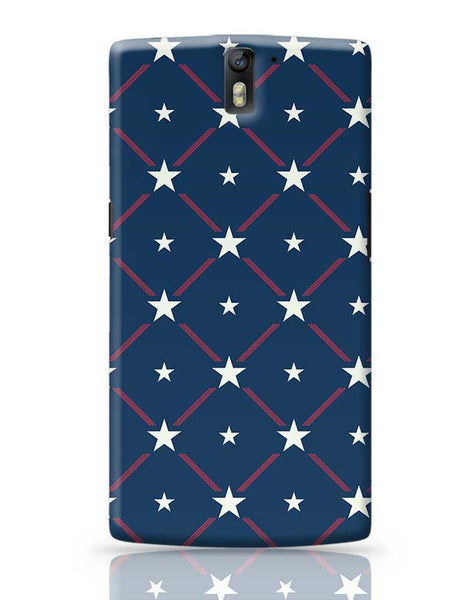 White Star with blue background OnePlus One Covers Cases Online India