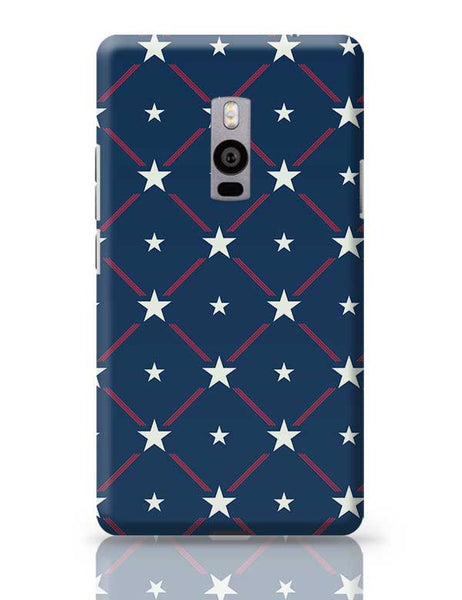 White Star with blue background OnePlus Two Covers Cases Online India