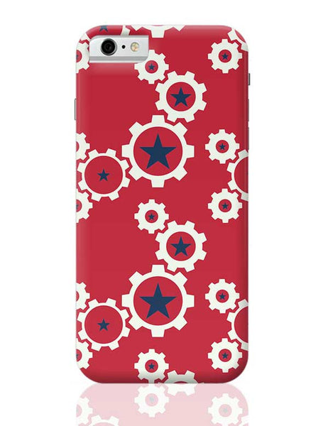 Star Wheel with red background iPhone 6 6S Covers Cases Online India