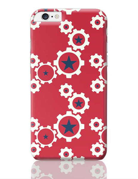 Star Wheel with red background iPhone 6 Plus / 6S Plus Covers Cases Online India