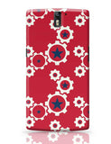 Star Wheel with red background Oneplus One Covers Cases