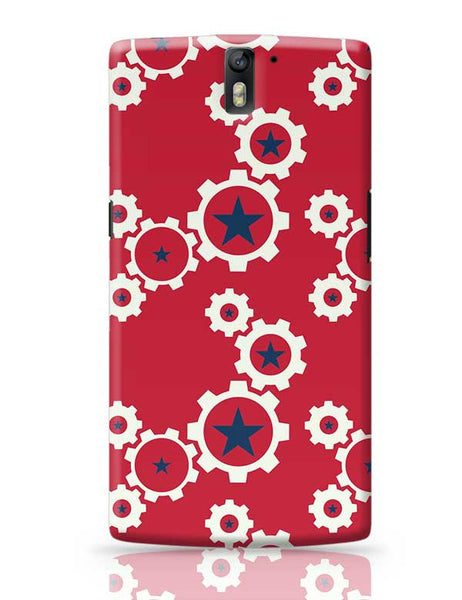 Star Wheel with red background OnePlus One Covers Cases Online India