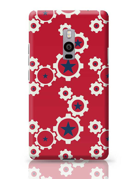 Star Wheel with red background OnePlus Two Covers Cases Online India