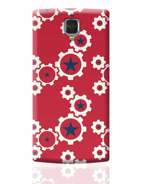 Star Wheel with red background OnePlus 3 Covers Cases Online India