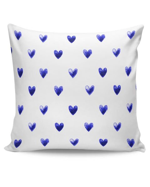 Blue Heart Cushion Cover Online India
